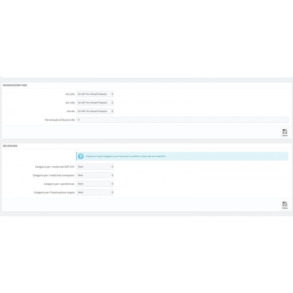 module - Importeren en Exporteren van data - Importazione FarmaDati - Massivo - 7