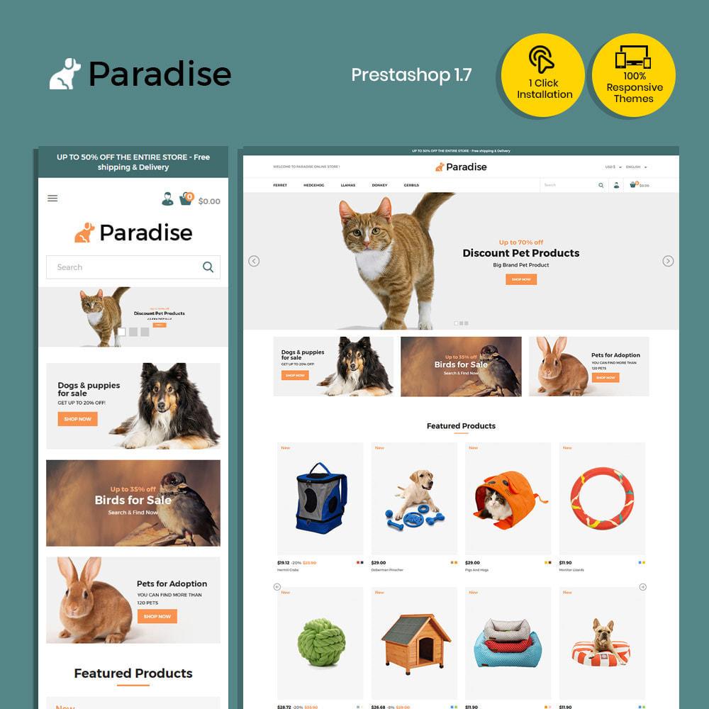 theme - Dieren - Nutrition Animal  Pet Food -  Pet Store - 1