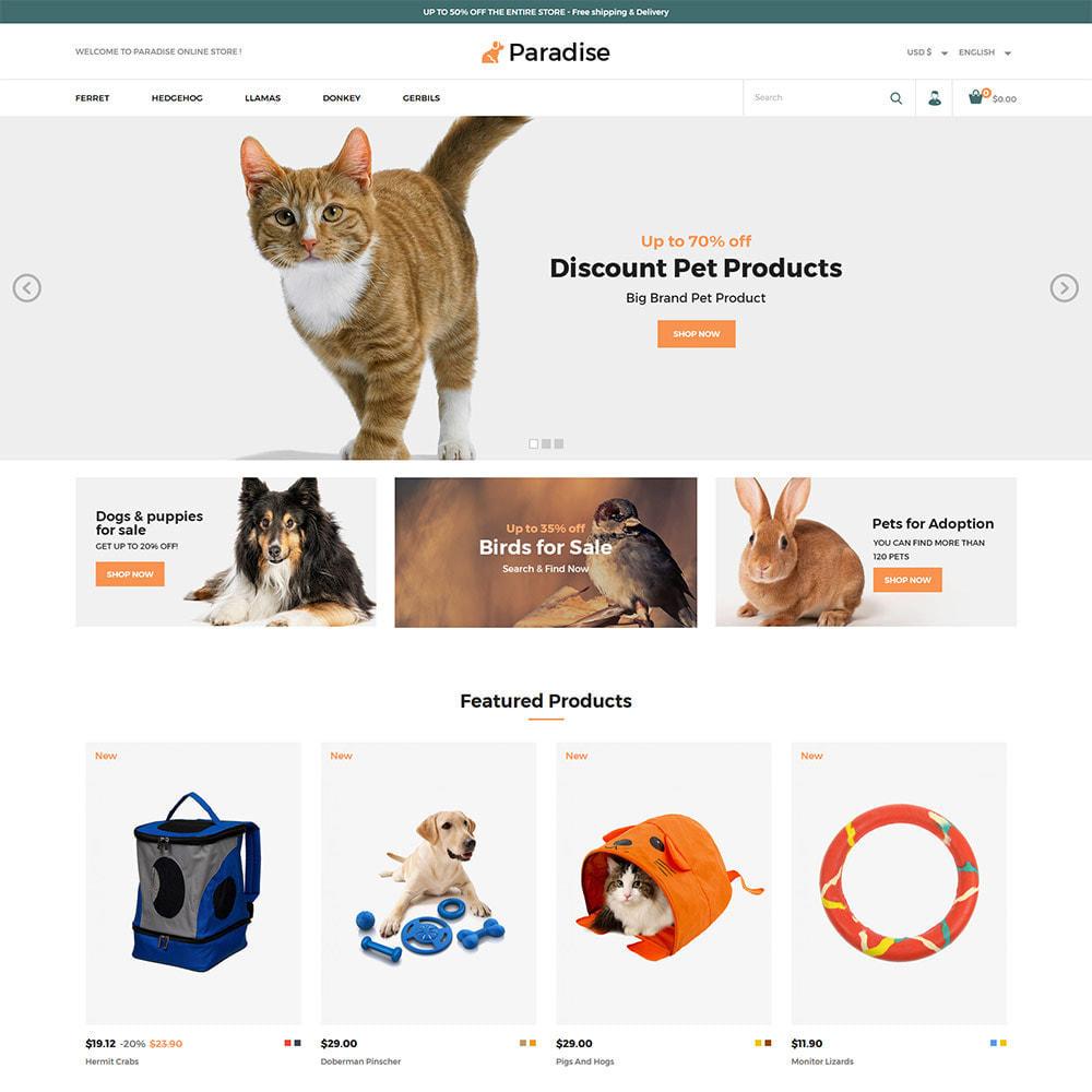 theme - Dieren - Nutrition Animal  Pet Food -  Pet Store - 2
