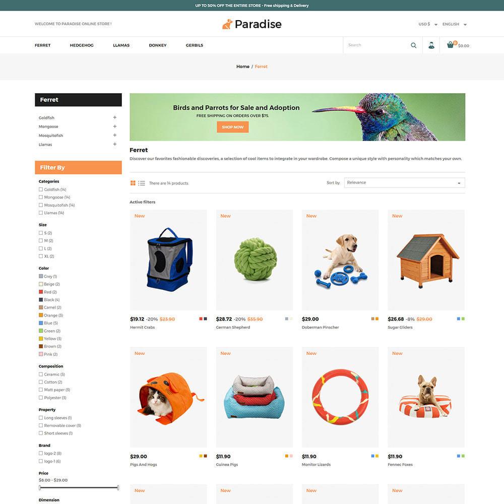 theme - Dieren - Nutrition Animal  Pet Food -  Pet Store - 3