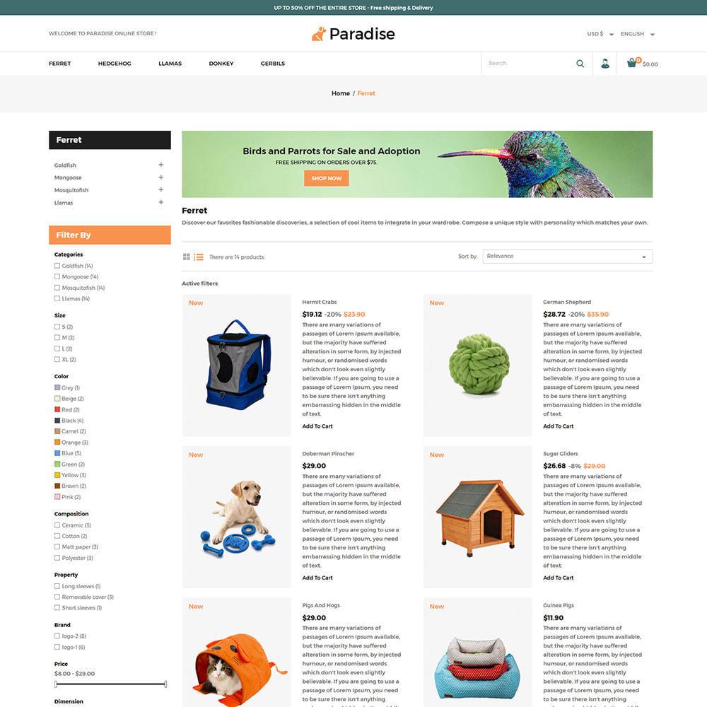 theme - Dieren - Nutrition Animal  Pet Food -  Pet Store - 4