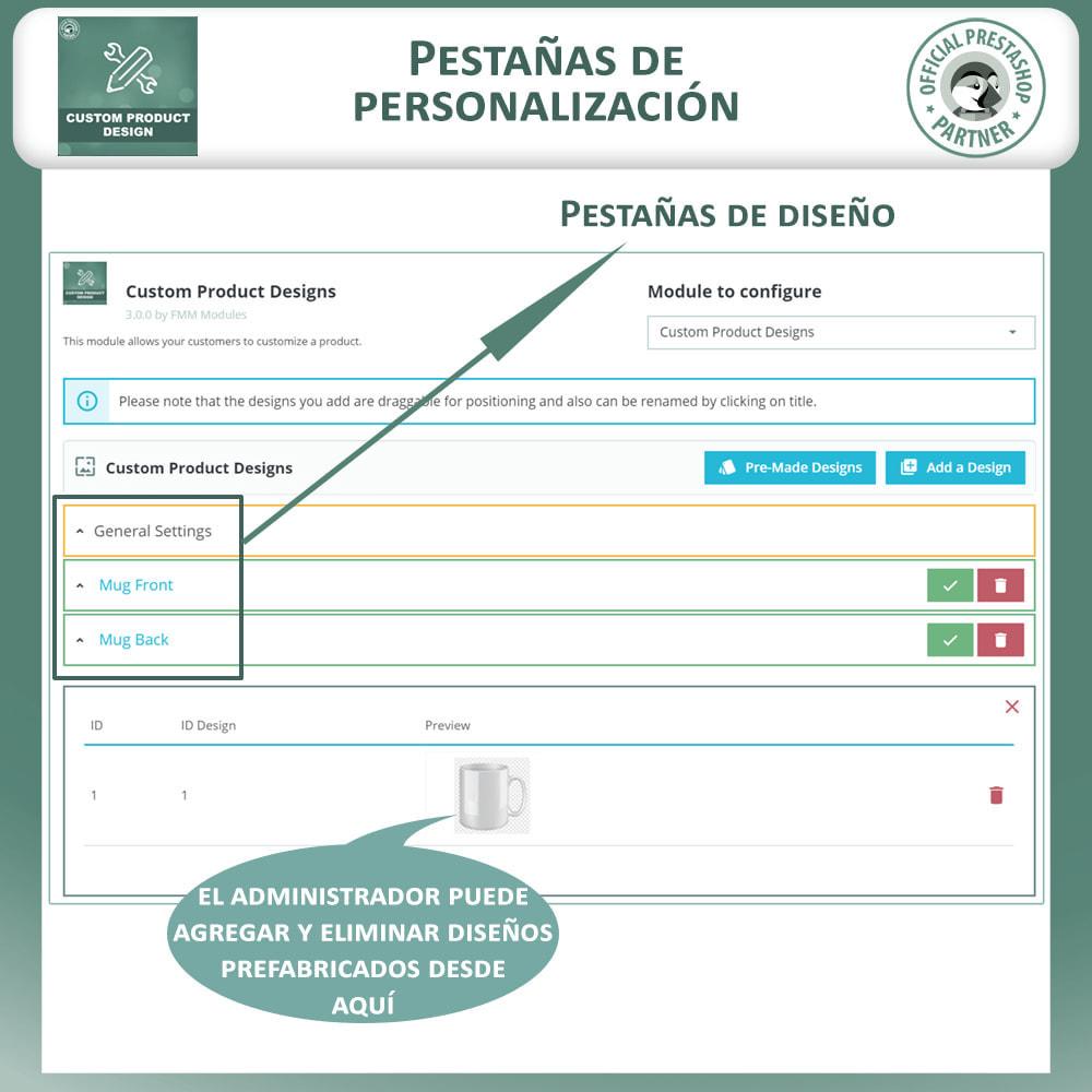 module - Combinaciones y Personalización de productos - Diseñador de productos personalizados - 16