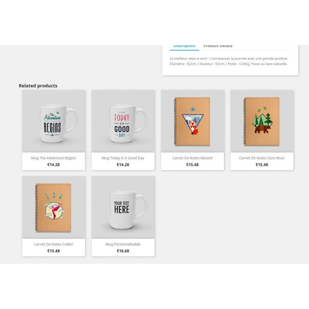 module - Sprzedaż krzyżowa & Pakiety produktów - Related Products by Product's Tags - 2