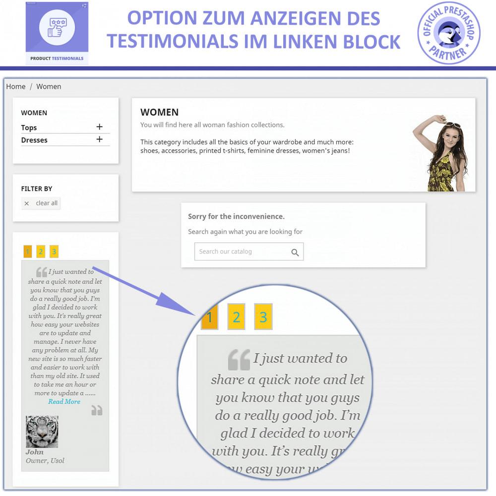 module - Kundenbewertungen - Kunden Produktbewertungen + Shop Bewertungen - 3
