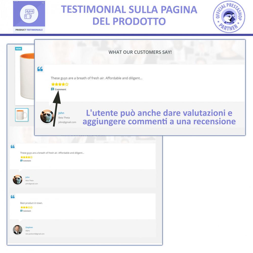 module - Recensioni clienti - Recensioni di Prodotti Clienti + Recensioni di Negozio - 2