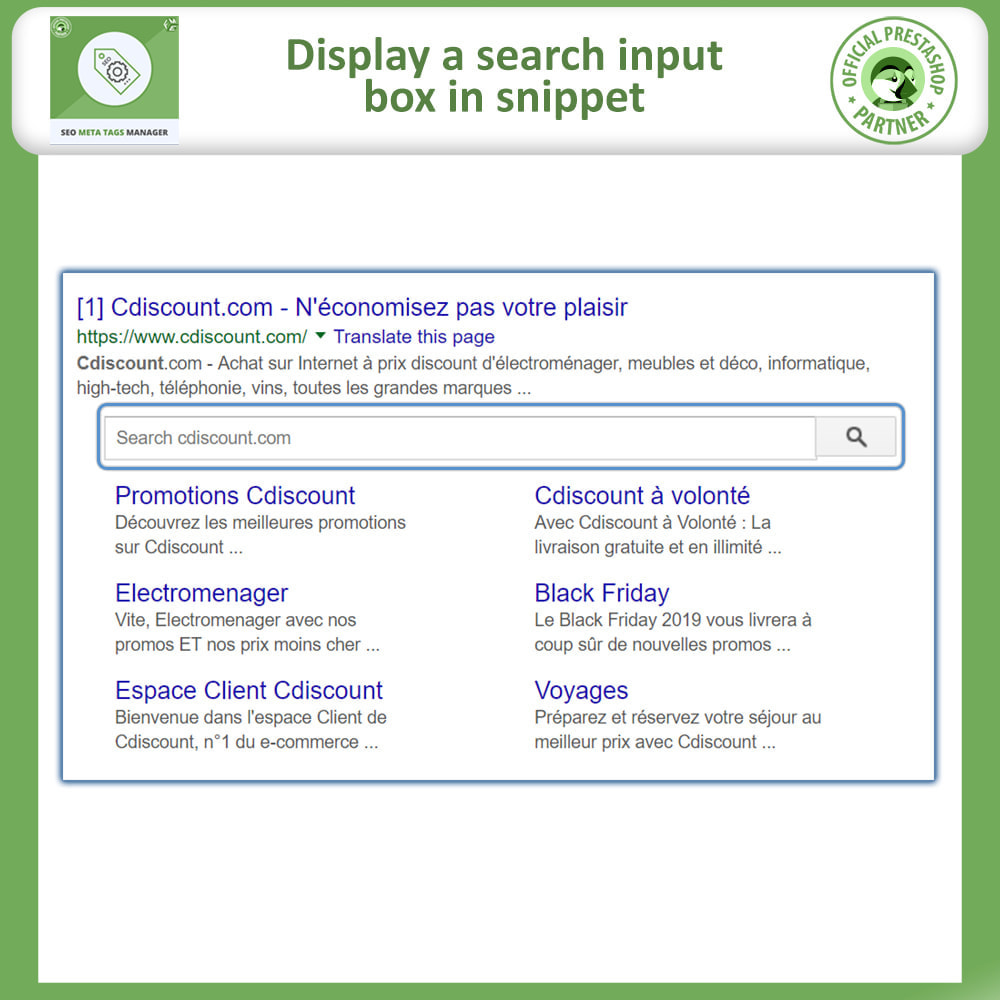 module - SEO (Referenciamento natural) - Meta Tag Manager -AutoGenerate Meta Title, Description - 2