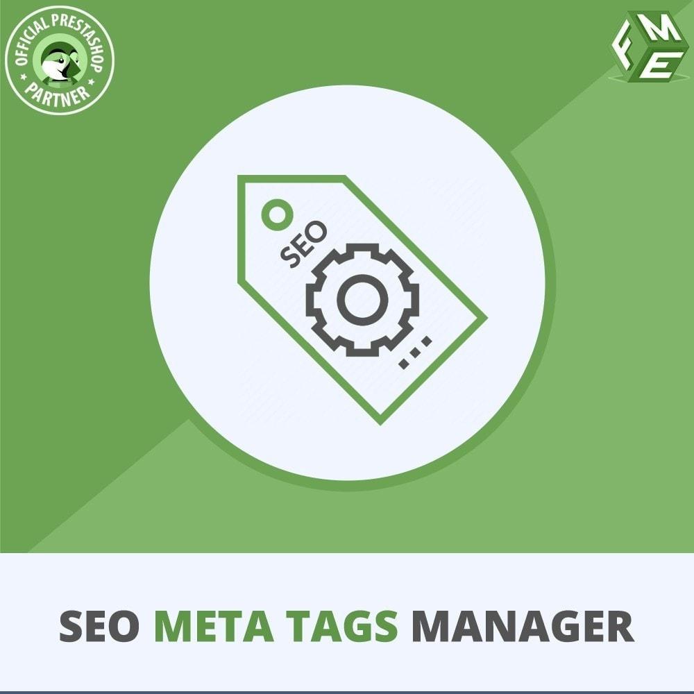 module - SEO (Posicionamiento en buscadores) - Meta Tag Manager - 1