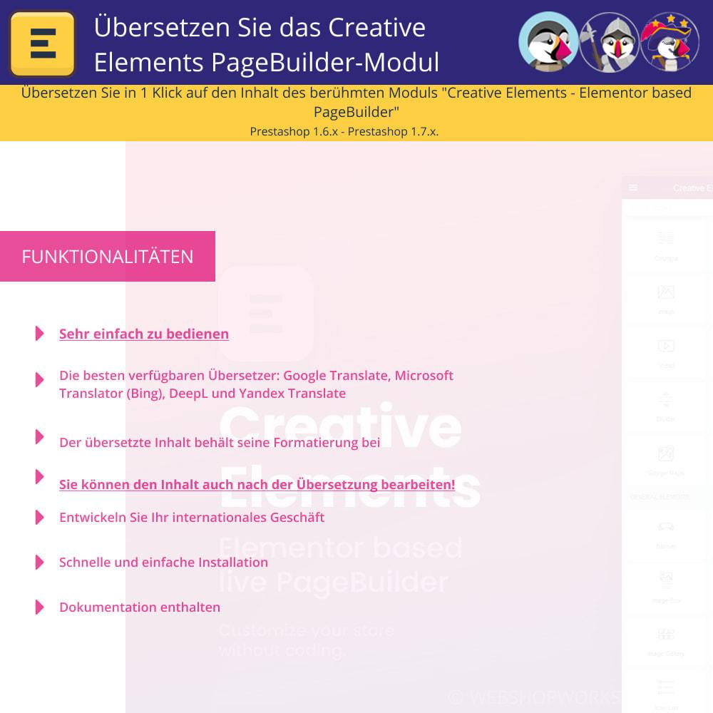 module - Internationalisierung & Lokalisierung - Elementor übersetzen (Creative Elements & Iqit) - 1
