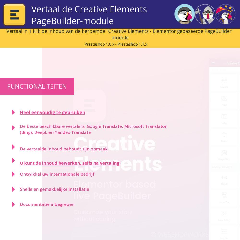 module - Internationaal & Lokalisatie - Translate Elementor (Creative Elements & Iqit) - 1