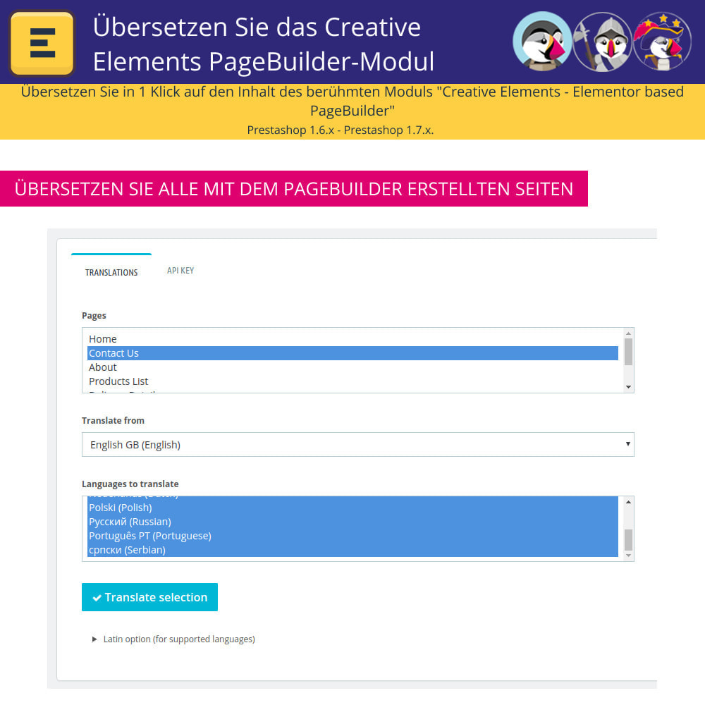 module - Internationalisierung & Lokalisierung - Elementor übersetzen (Creative Elements & Iqit) - 5