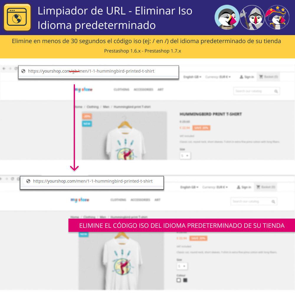 module - URL y Redirecciones - Limpiador URL - Borrar el lenguaje por defecto de Iso - 2