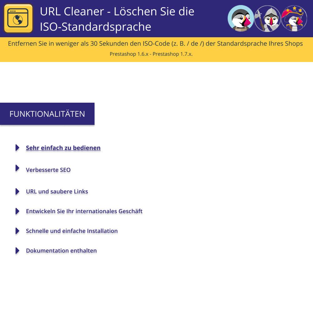 module - URL & Redirects - URL-Cleaner - Iso-Standardsprache löschen - 1