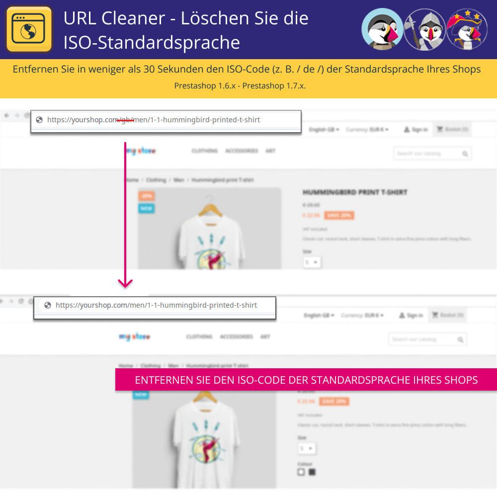 module - URL & Redirects - URL-Cleaner - Iso-Standardsprache löschen - 2