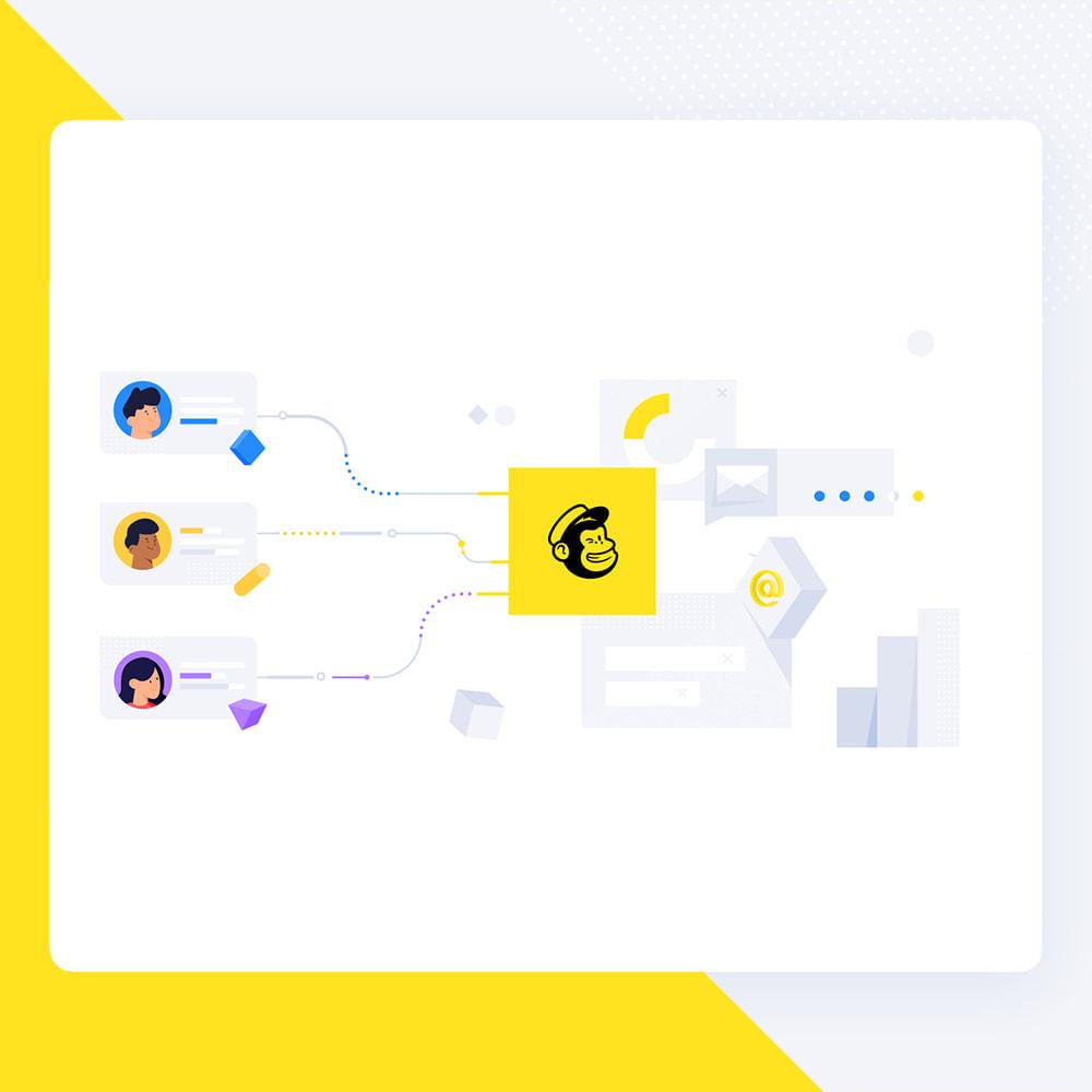 module - Nieuwsbrief & SMS - Newsletter Popup: MailChimp, HubSpot, SendinBlue + API - 4