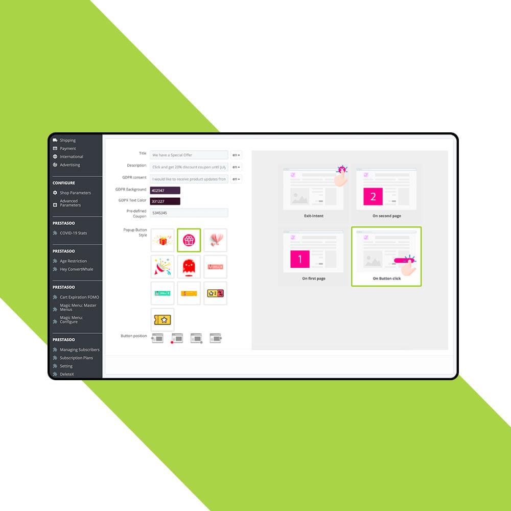 module - Nieuwsbrief & SMS - Newsletter Popup: MailChimp, HubSpot, SendinBlue + API - 7