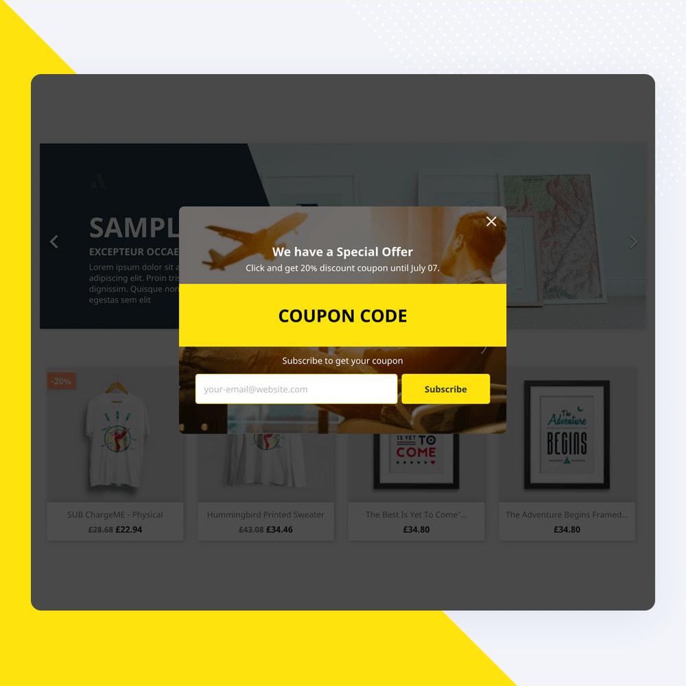 module - Nieuwsbrief & SMS - Newsletter Popup: MailChimp, HubSpot, SendinBlue + API - 13