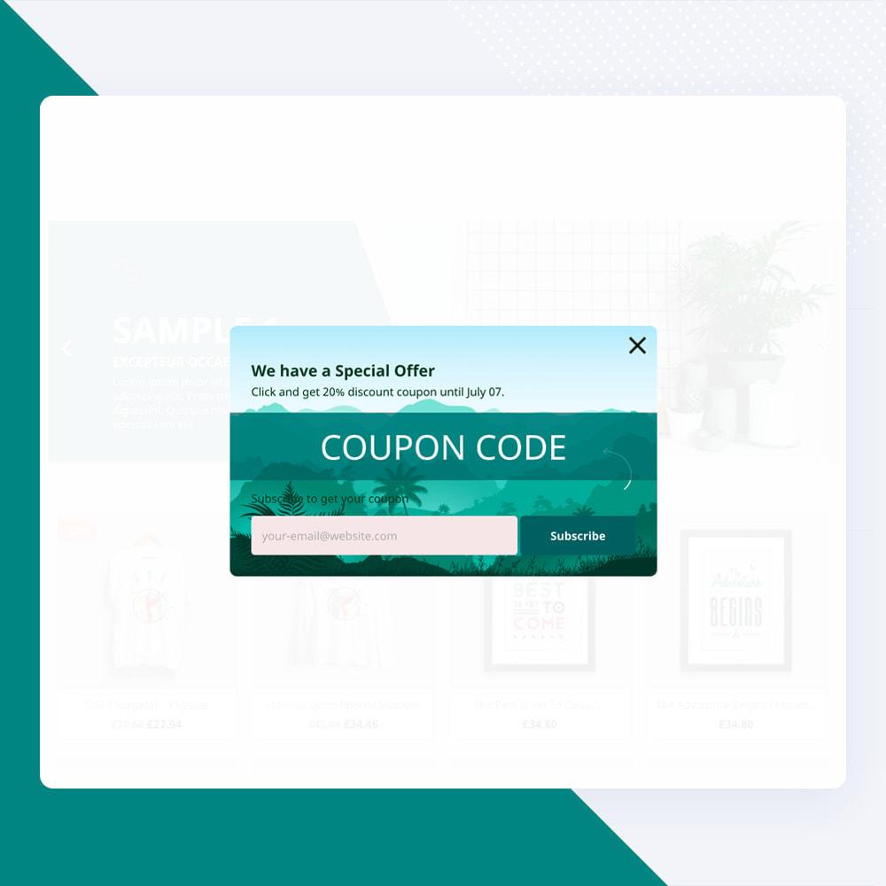 module - Nieuwsbrief & SMS - Newsletter Popup: MailChimp, HubSpot, SendinBlue + API - 15
