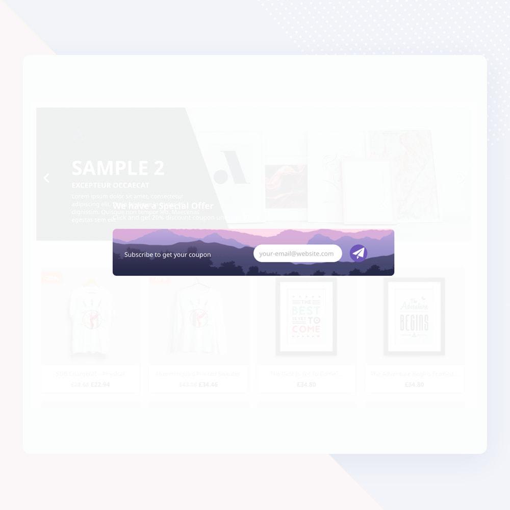 module - Newsletter y SMS - Popup Newsletter - 12