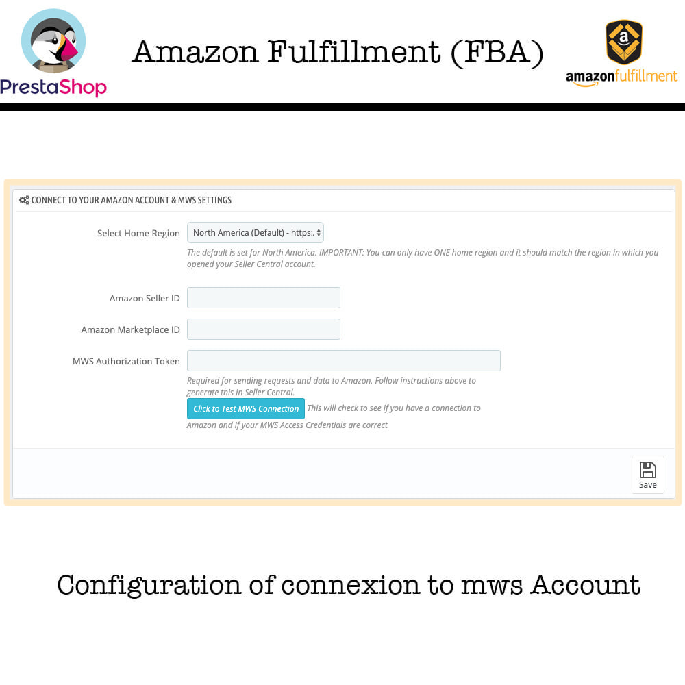 module - Marktplaats (marketplaces) - Fulfillment By Amazon (FBA) Work with SP API - 2
