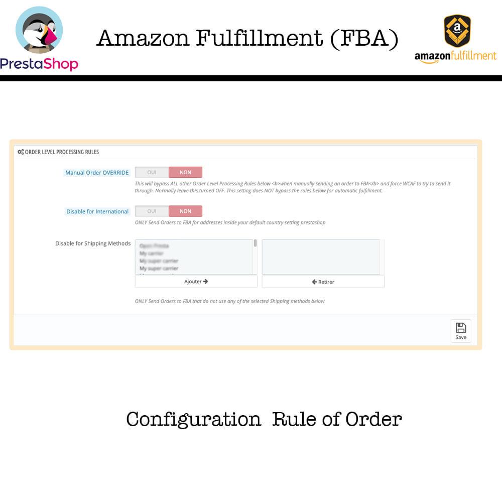 module - Торговая площадка - Amazon Fulfillment (FBA + SP API ) - 4