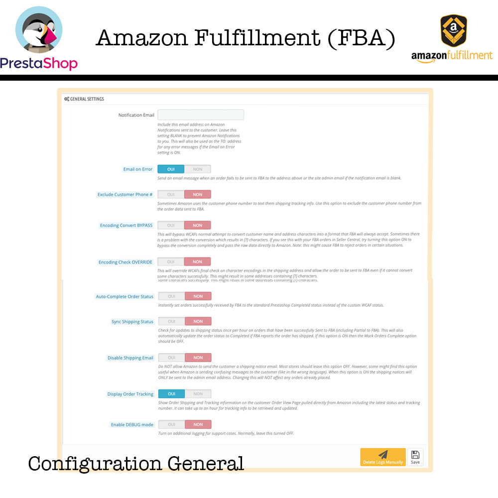 module - Торговая площадка - Amazon Fulfillment (FBA + SP API ) - 6