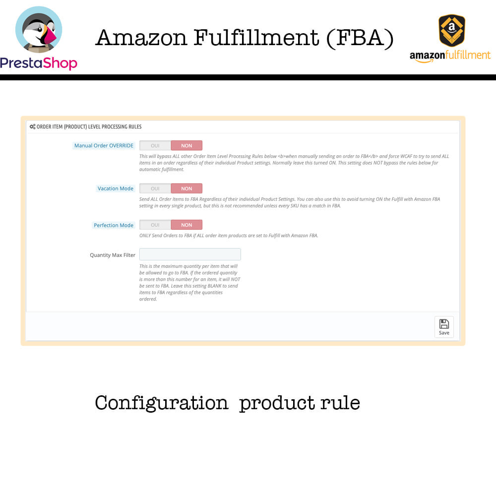 module - Marketplaces - Amazon Fulfillment (FBA + SP API ) - 7