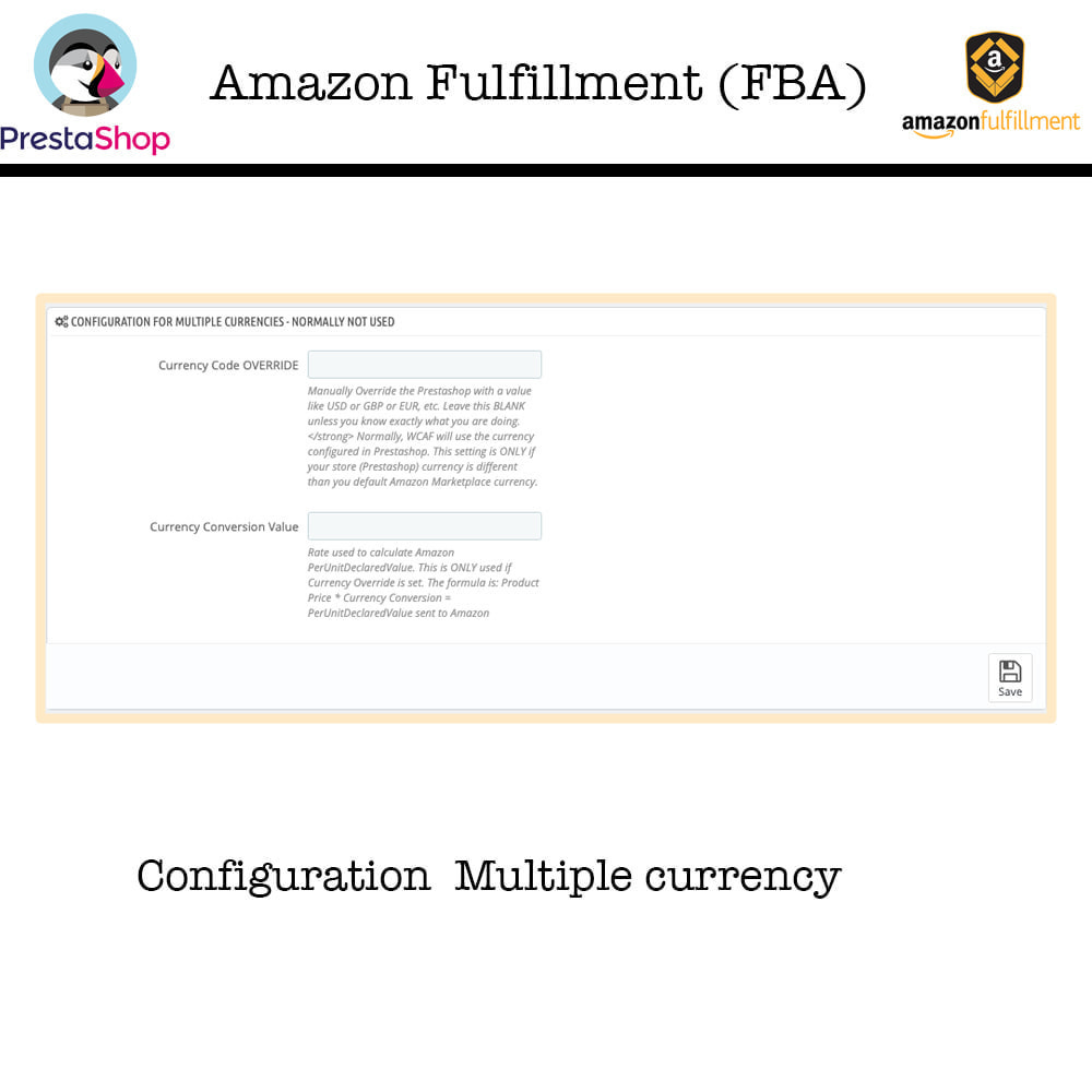 module - Торговая площадка - Amazon Fulfillment (FBA + SP API ) - 8