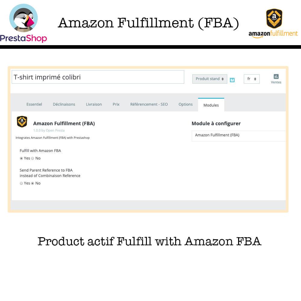 module - Marktplaats (marketplaces) - Fulfillment By Amazon (FBA) Work with SP API - 9