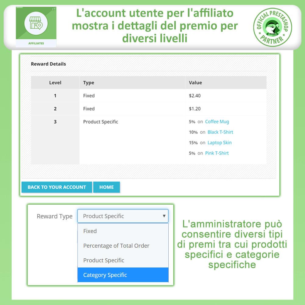 module - Indicizzazione a pagamento (SEA SEM) & Affiliazione - Affiliati e programma referral - 3