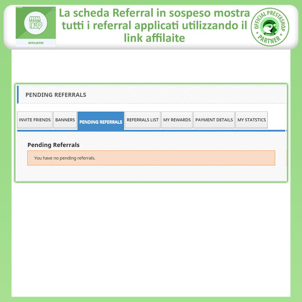 module - Indicizzazione a pagamento (SEA SEM) & Affiliazione - Affiliati e programma referral - 6