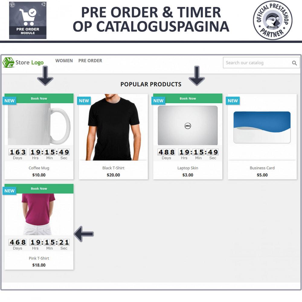 module - Registratie en Proces van bestellingen - Pre-Order - Advance Booking | Out of Stock Selling - 2