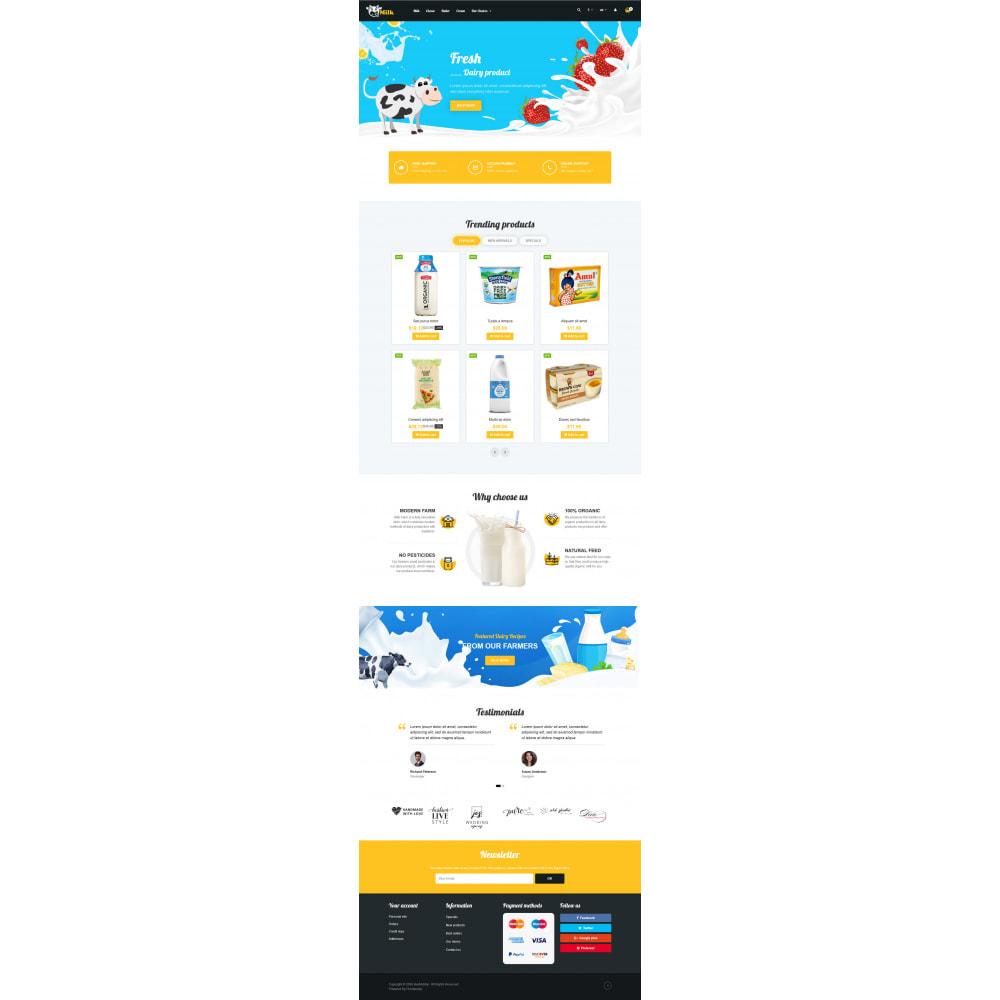 theme - Żywność & Restauracje - VP_Milk - Page Builder - 3