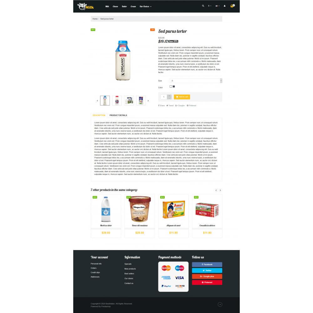 theme - Żywność & Restauracje - VP_Milk - Page Builder - 4