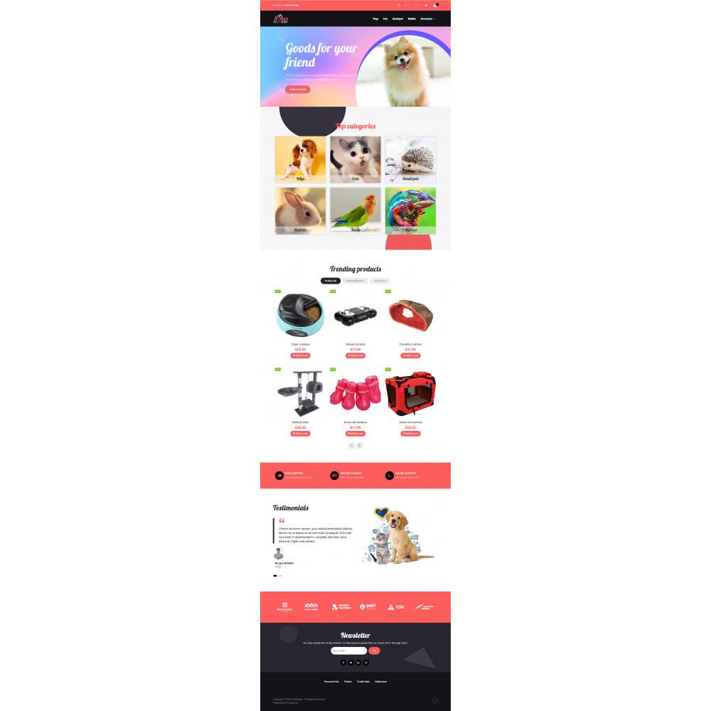theme - Dieren - VP_PetShop - Page Builder - 2