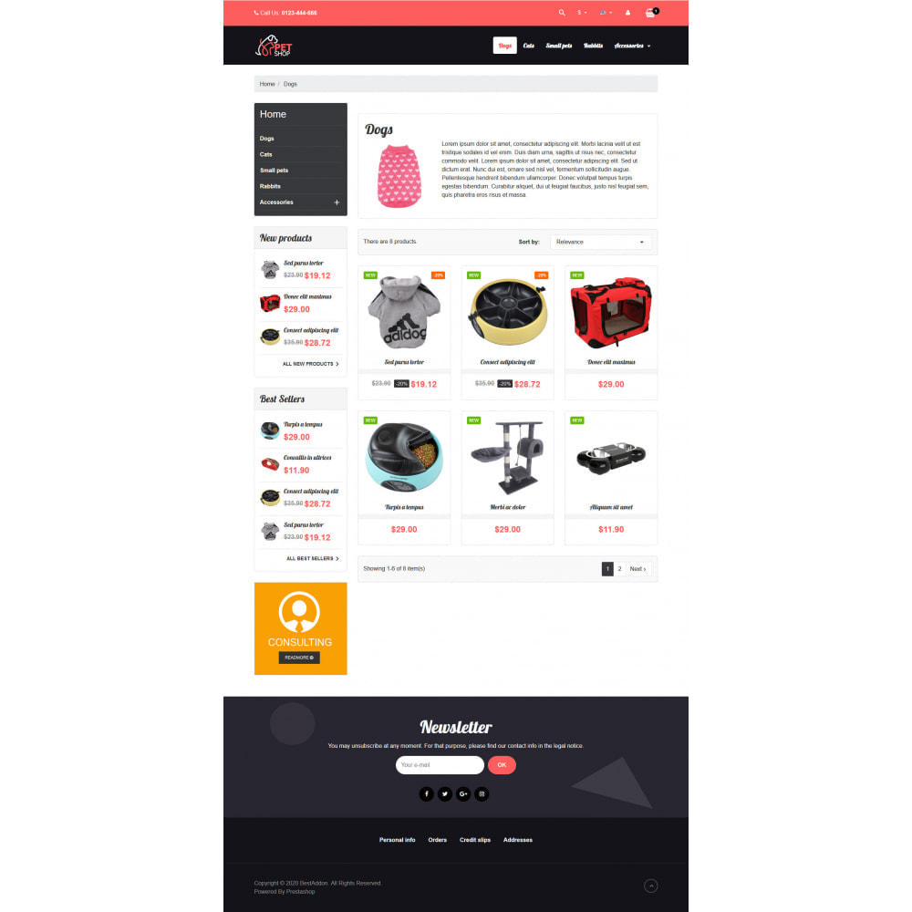 theme - Dieren - VP_PetShop - Page Builder - 3