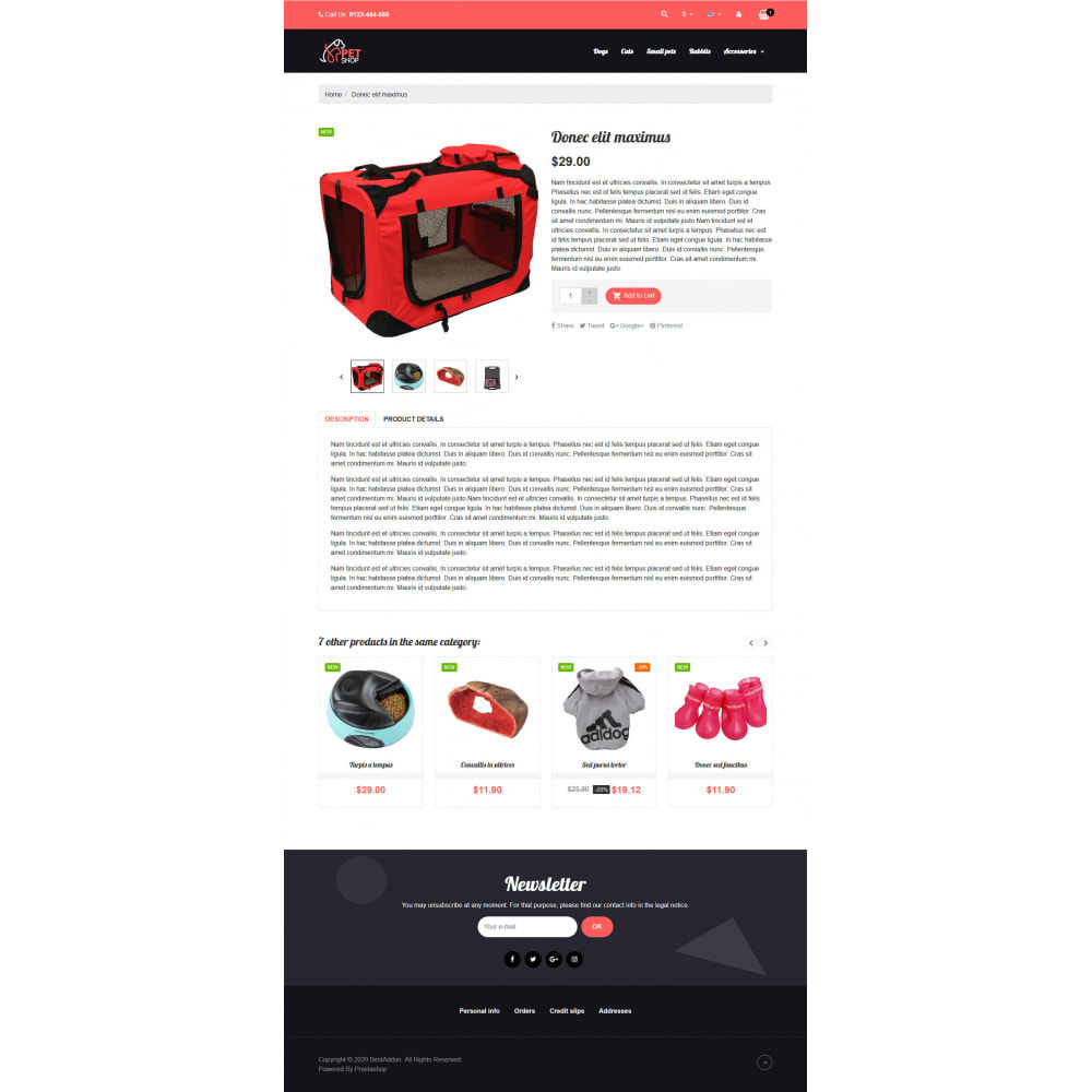 theme - Dieren - VP_PetShop - Page Builder - 4