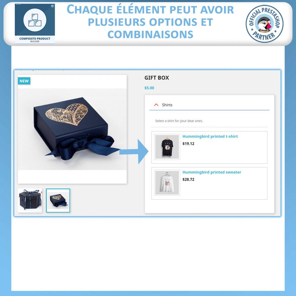 module - Ventes croisées & Packs de produits - Composite Produit Constructeur - 3