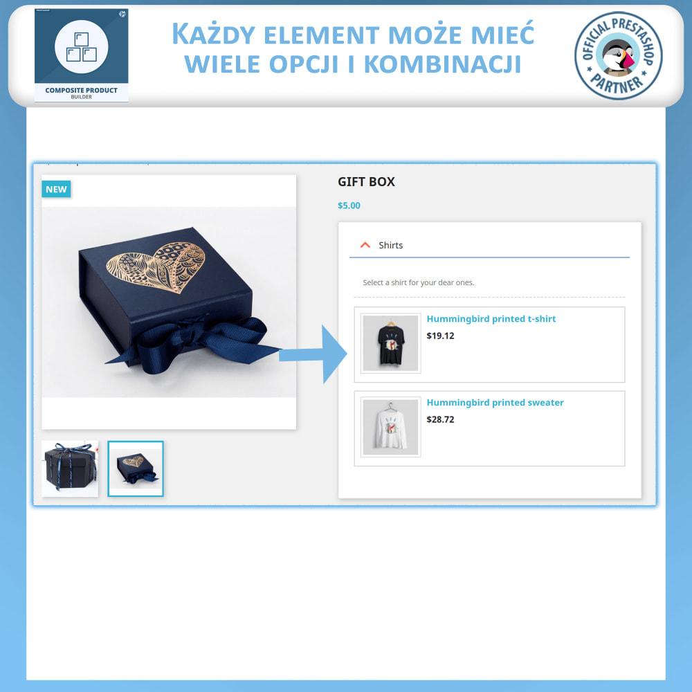module - Sprzedaż krzyżowa & Pakiety produktów - Konstruktor Produktów Kompozytowych - 3