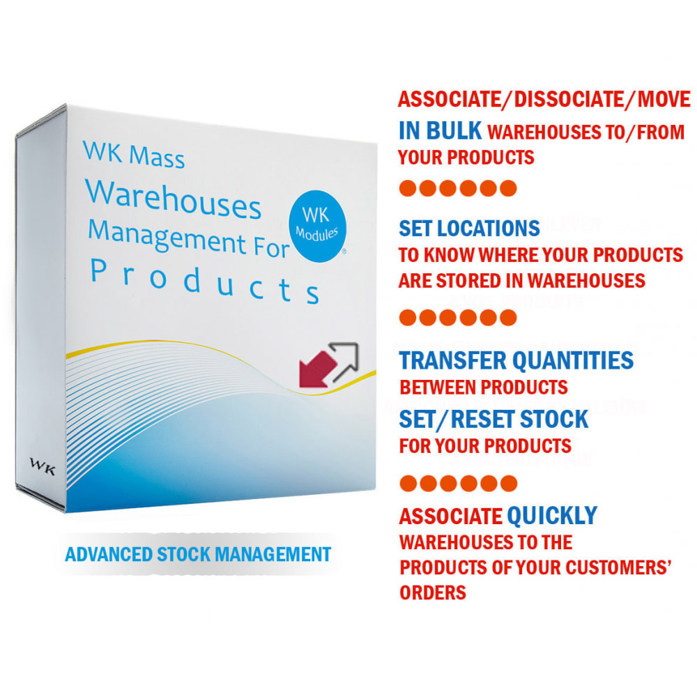 module - Gestione Scorte & Fornitori - WK Mass Warehouses Management For Products - 1
