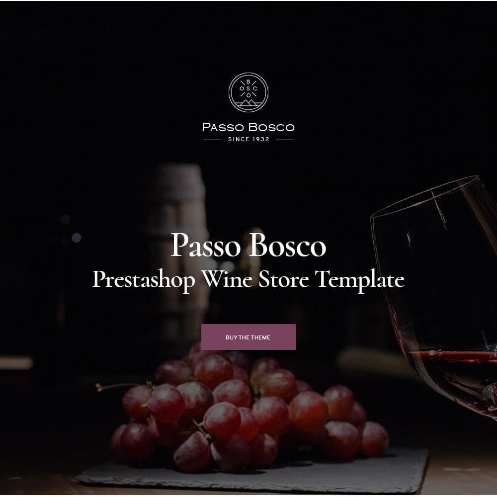 theme - Drink & Wine - Passo Bosco - Winery Drink Store - 1