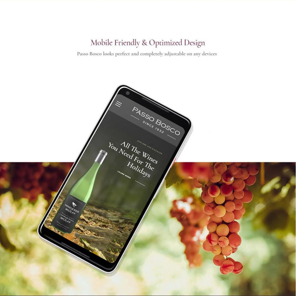 theme - Drink & Wine - Passo Bosco - Winery Drink Store - 8