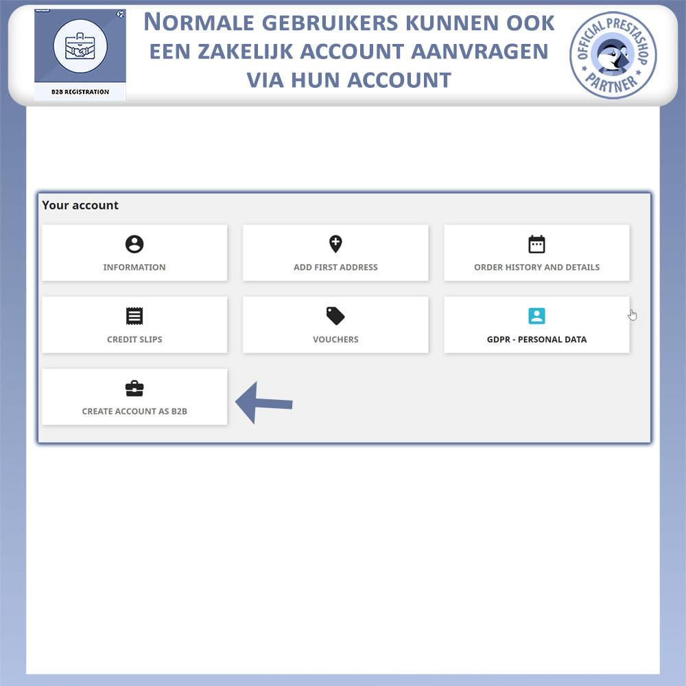 module - Registratie en Proces van bestellingen - B2B Registratie - 7