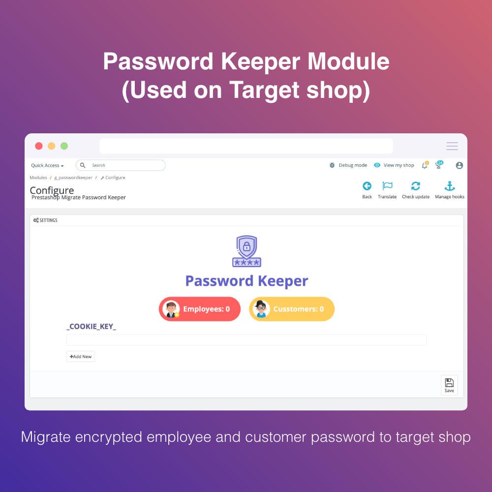 module - Migratie & Backup - Migrate WooCommerce to Prestashop - 2