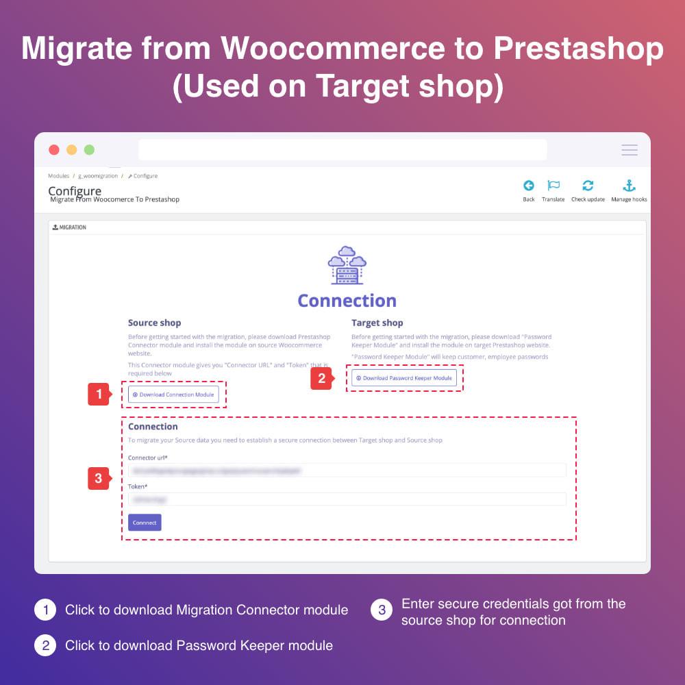 module - Migratie & Backup - Migrate WooCommerce to Prestashop - 3