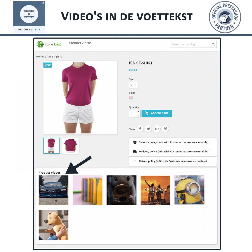 module - Video's & Muziek - Product Videos - Upload or Embed YouTube, Vimeo - 6