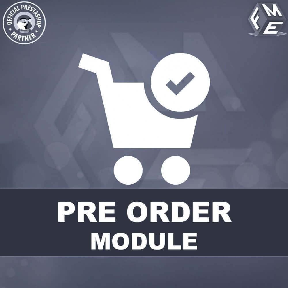 module - Pегистрации и оформления заказа - Pre-Order - Advance Booking | Out of Stock Selling - 1