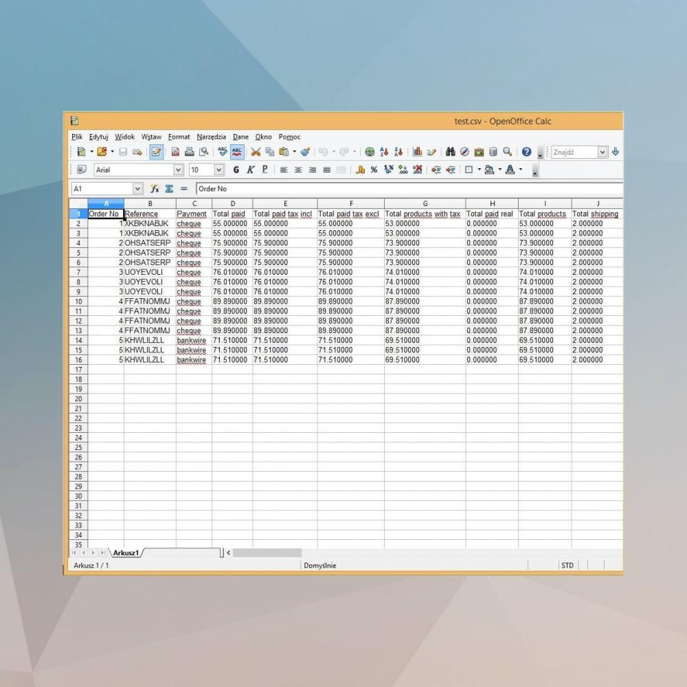 module - Импорт и Экспорт данных - Advanced Export Products Orders Cron CSV Excel - 12