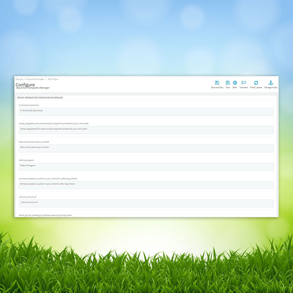 module - Email & Notifiche - BVP Email Templates Manager Pro - 3