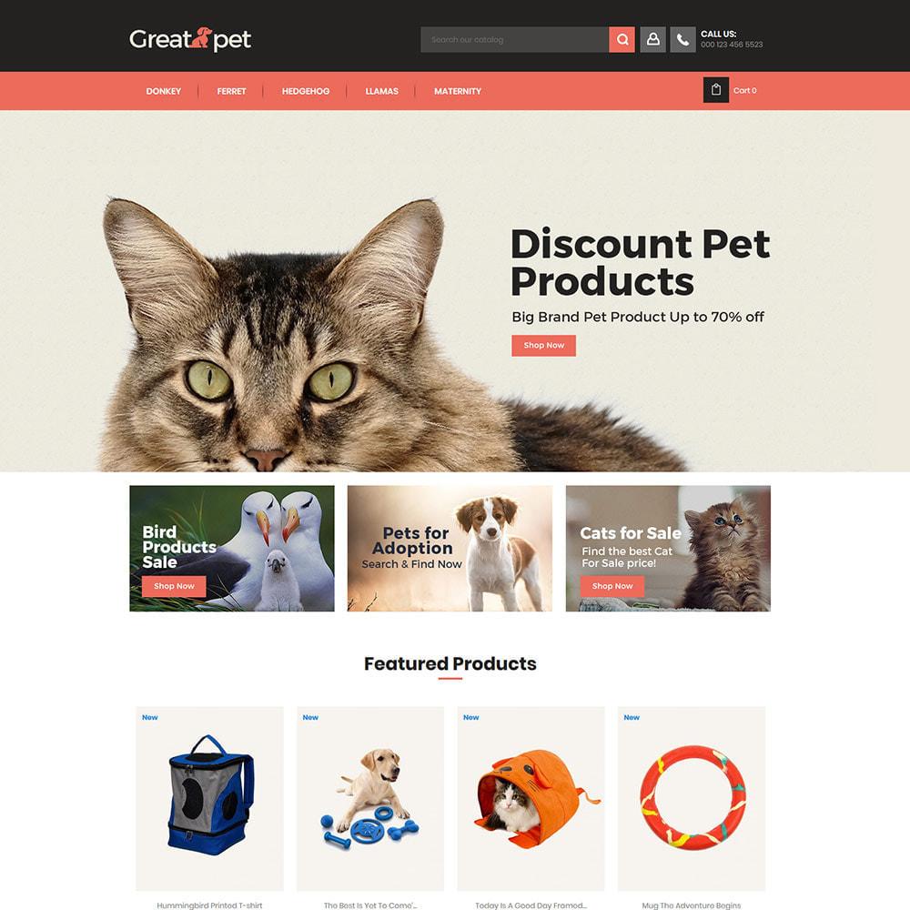 theme - Tier - Animal Pet - Puppy Cat Store - 1
