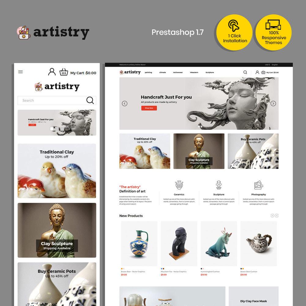 theme - Kultura & Sztuka - Artysta - sklep z farbami - 1